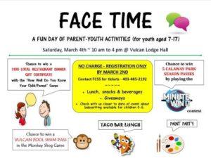 FACE TIME! @ Vulcan Lodge Hall | Vulcan | Alberta | Canada